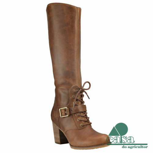 Botas Timberland Trenton Tall Waterproof Tobacco Forty Leather