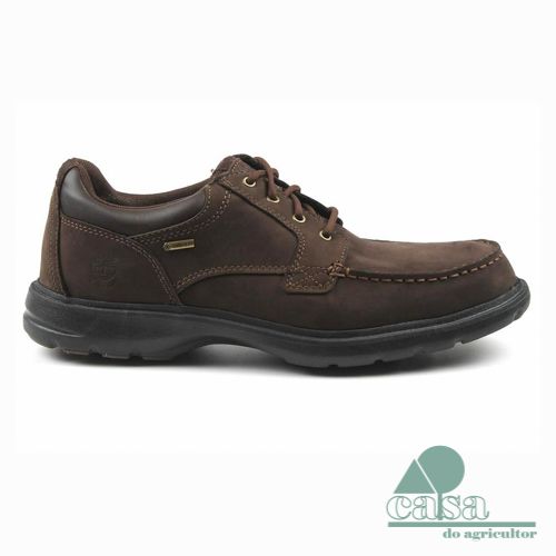 Sapatos Timberland Richmont Plain Toe Chukka Dark Brown
