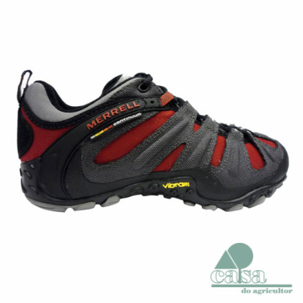 Merrell Ténis Chameleon Wrap Slam Charcoal Red