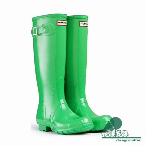 Botas Hunter Original Gloss Tall Spring Green
