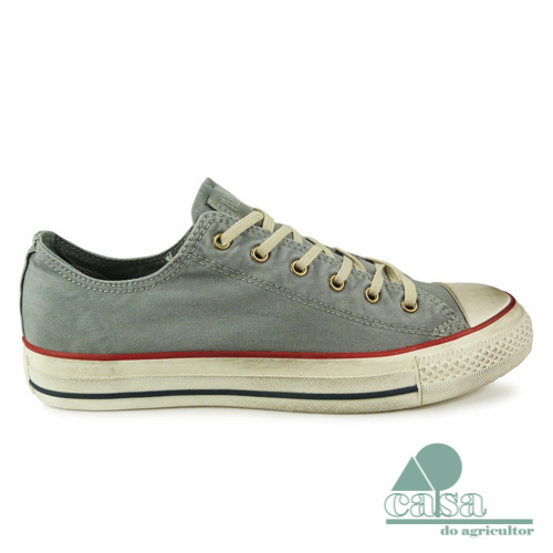 Ténis Converse All Star Chuck Taylor Low Cinza Drizzle