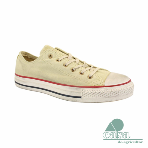 Ténis Converse All Star Chuck Taylor Low Bege