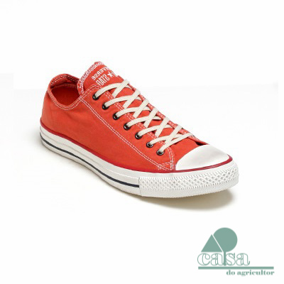 Ténis Converse All Star Chuck Taylor Low Laranja