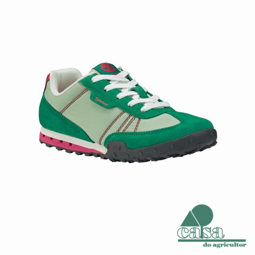 Timberland Ténis Earthkeepers Greeley Rosa e Verde