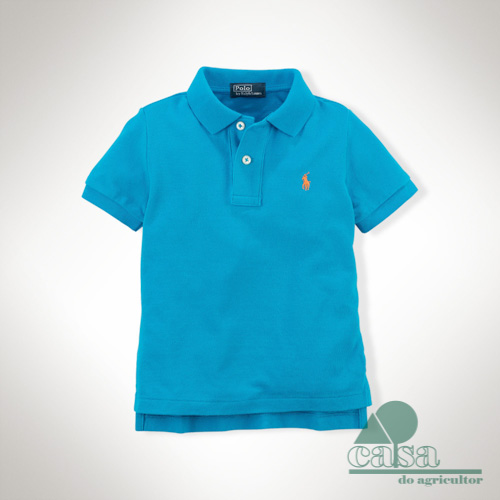Polo Ralph Lauren Criança Optic Blue