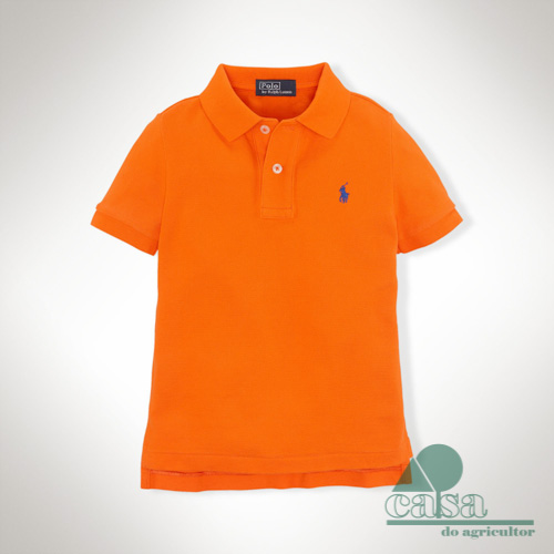 Polo Ralph Lauren Criança Bright Signal Orange