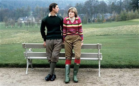 charles-diana hunter wellies