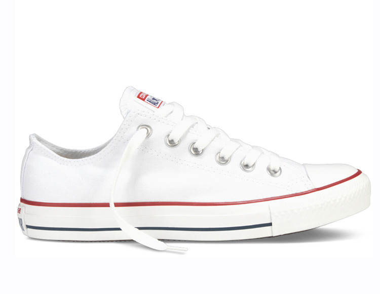 Ténis Converse All Star Chuck Taylor Low Branco M7652