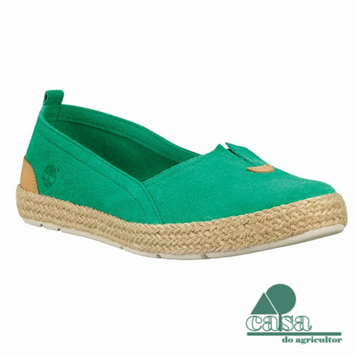 Timberland Sapato Casco Bay Slip-On Verde