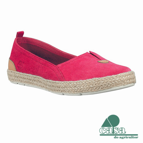Timberland Sapato Casco Bay Slip-On Rosa