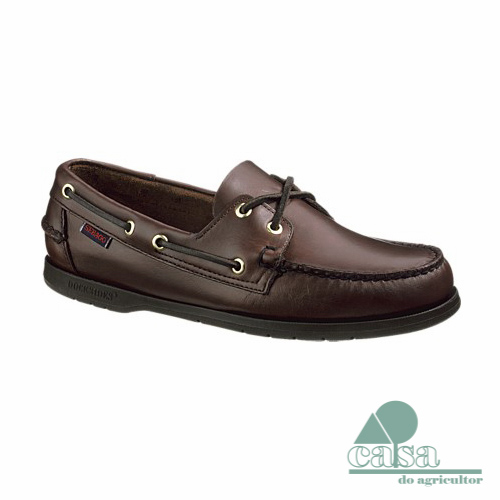 Sapato Sebago Dockside Endeavor Brown