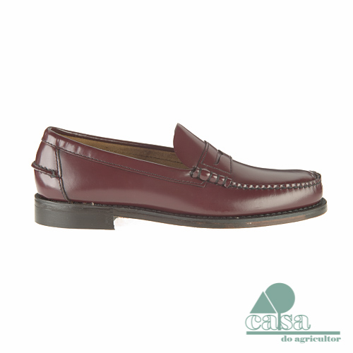 Sapato Sebago Mocasin Clássico Antique Brown