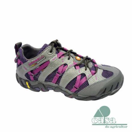 Ténis Merrell Waterpro Ultra-Sport Lt Grey-Purple