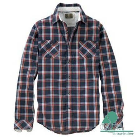 Camisa Timberland Long Sleeve Warner River Double Layer Plaid 5522J-433