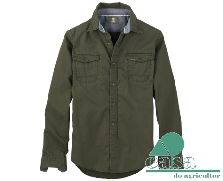 Camisa Timberland Earthkeepers Hubbard River Twill 5526J-768
