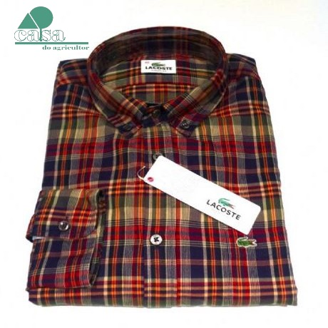 Camisa Lacoste Oxford Regular Fit CH3192-SS